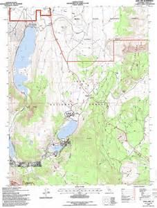 june lake topographic map ca usgs topo 37119g1