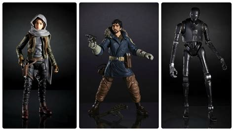 Hasbro Wars Rogue One Black Series 2016 Chirrut Imwe 6 Inch quot every day they grow stronger quot hasbro reveals line ups for rogue one a wars story