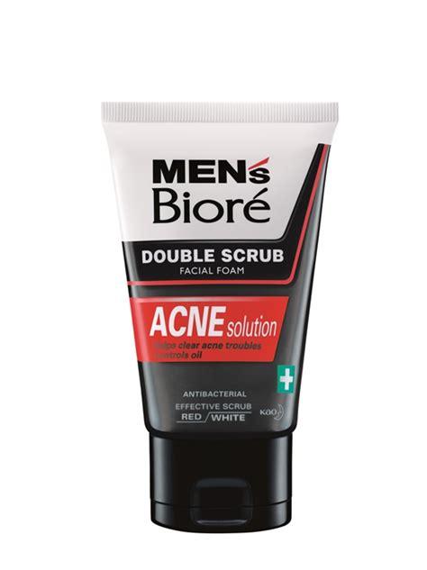 S Biore Scrub conquer dirt acne with the new men s biore