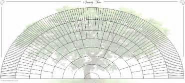 family tree fan template 8 generation ancestor fan chart