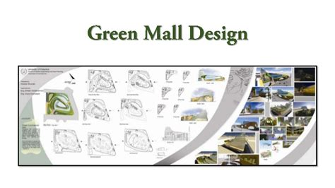 shopping mall layout design green mall design