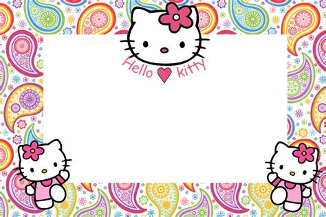 hello kitty printable party decorations free hello kitty party free printable invitations is it for