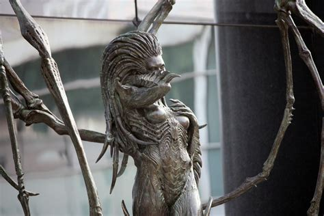 amazing life sized starcraft queen of blades statue photo freakin amazing starcraft statue dropped outside blizzard