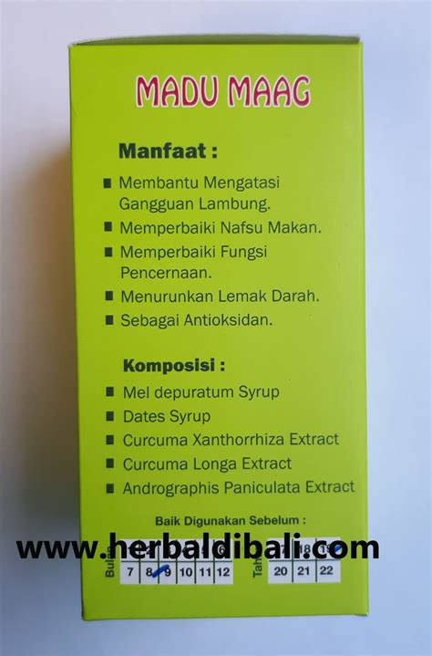 Al Mabruroh Madu Maag Al Mabruroh jual madu maag al mabruroh di denpasar bali jual produk