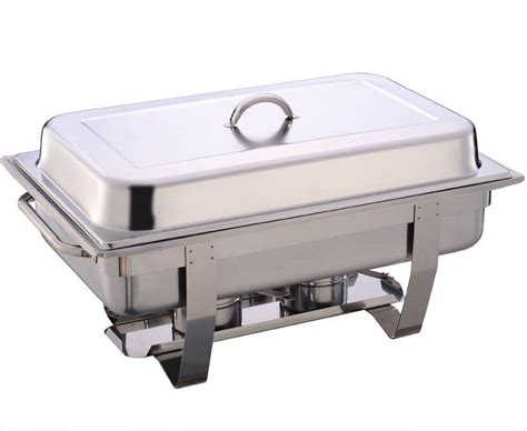 Oxone Food Warmer aro 8l rectangular chafing dish harga ae pradeep soup curry stainless steel ladle price in m