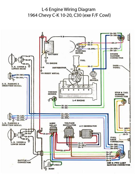 electric   engine wiring diagram chevy  pinterest