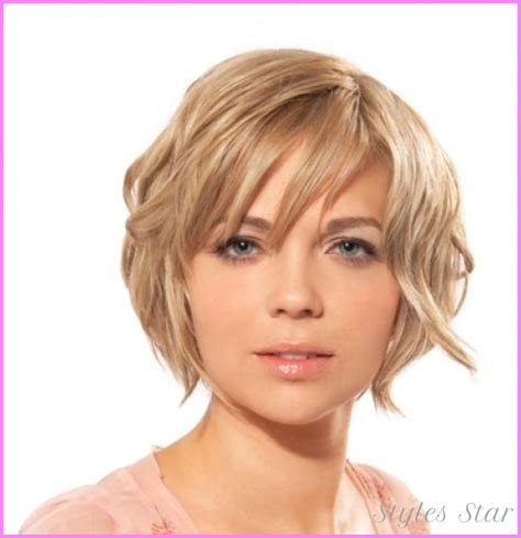 hairstyle for round faced teenage girl short haircuts for teenage girls round faces stylesstar