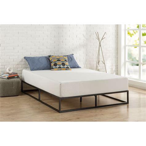modern metal beds canada size 10 inch low profile modern metal platform bed