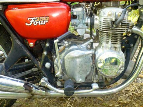 buy 1973 honda cb350f 4 cylinder 4 stroke single on 2040 motos