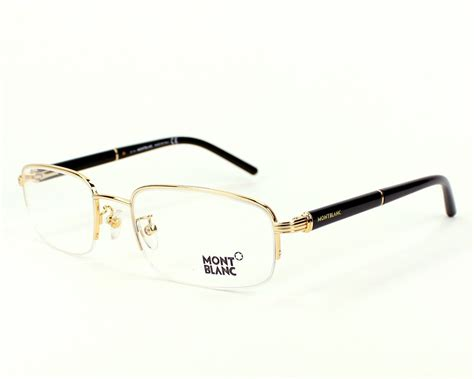 lunettes de vue mont blanc mb336 v 030 56 visionet