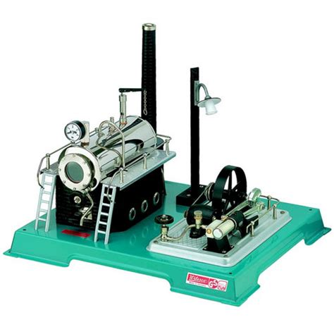 energy wilesco d 18 steam engine with integral generator