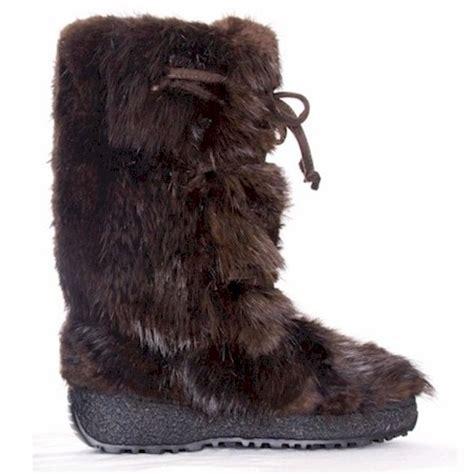fur boots s boots fur boots beaver fur boot apres ski boot