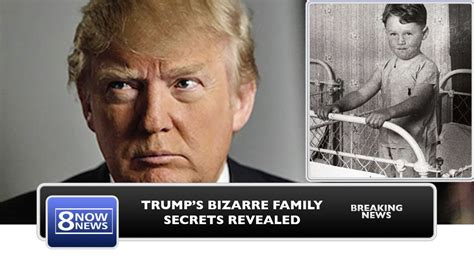 donald trump parents bizarre the real donald trump exposed the truth about