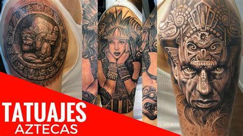 imagenes de indias aztecas tatuajes aztecas de dise 241 os exclusivos que desear 225 s poder