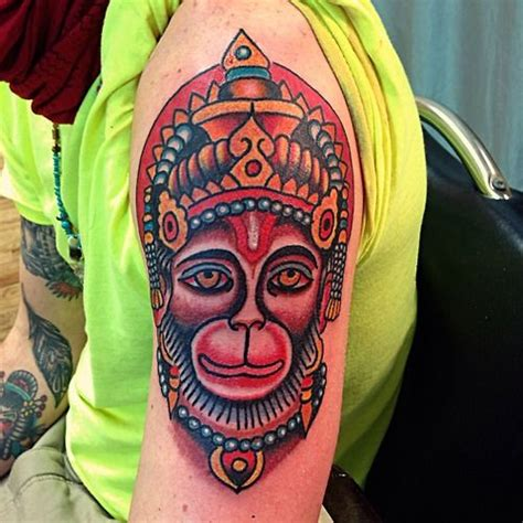 electric tattoo nj hanuman by robert electric new jersey 2014