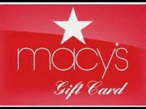 Macy S Gift Card Balance Not Working - prizepagoda macy s gift card youtube
