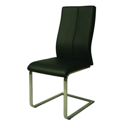 Black Upholstered Chair by Pastel Furniture Olander Upholstered Dining Chair In Black