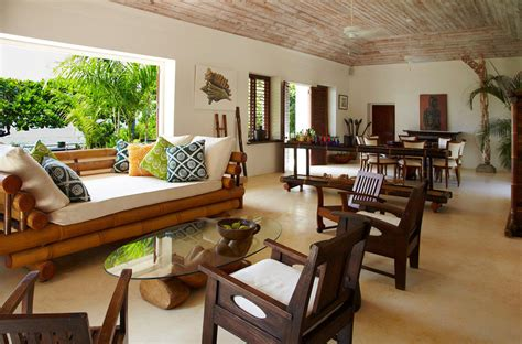 resort home design interior ian fleming villa at goldeneye resort in jamaica