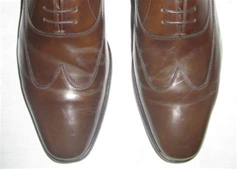 shoe care help how to remove creases bulges in leather
