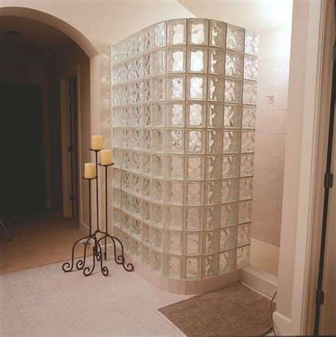 Glass Block Bathroom Designs by 17 Best Ideas About Glass Block Shower On
