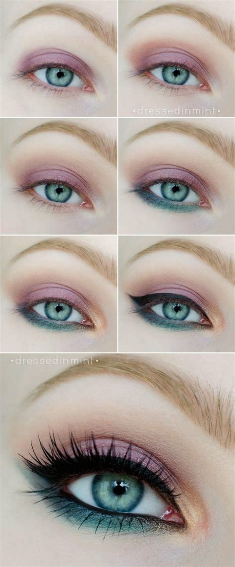 eyeliner tutorial for blue eyes 26 easy makeup tutorials for blue eyes styles weekly