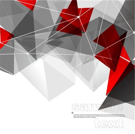 3d geometry shiny background graphic 01 vector