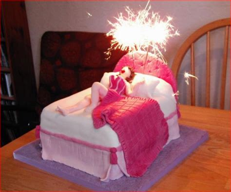 adults in bed hot big funny birthday cake funny big birthday cake colorful