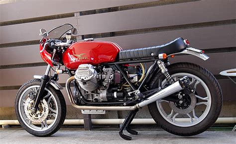 Nuova Sport Car Motorrad by Modifications Of Moto Guzzi Le Www Picautos