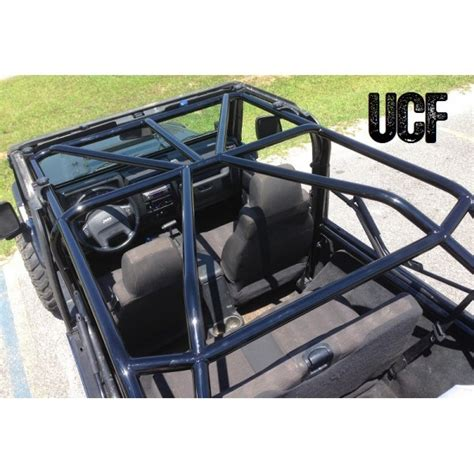 Jeep Wrangler Roll Cage Cover Fabworks Llc Ucf Lj Roll Cage For Jeep