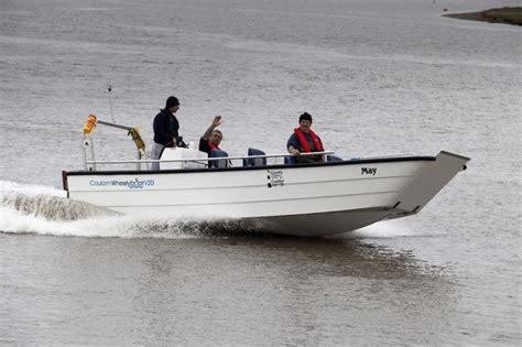 boats for sale done deal hopes new flintshire river dee boat rides will turn area