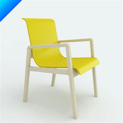 alvar aalto armchair 403 3d model alvar aalto armchair 403