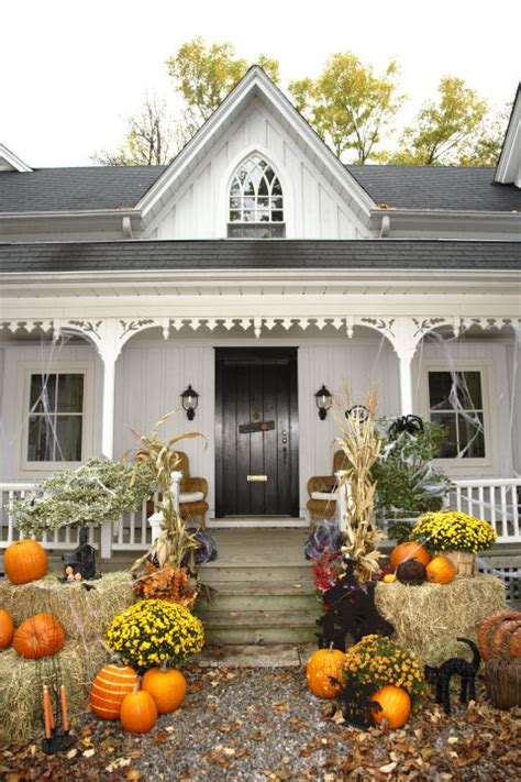 halloween home decor for interior and exterior best home 30 best outdoor halloween decoration ideas easy