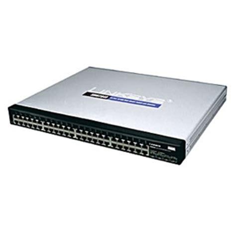 cisco srw2048 48 port 10/100/1000 gigabit network switch