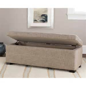 Large Storage Bench Safavieh Large Storage Bench Colors Walmart