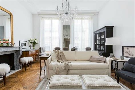 chic  bedroom paris apartment  les invalides
