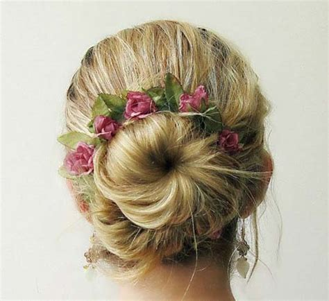 wedding hairstyles wedding flower ideas part 20 in wedding 20 wedding hair ideas with flowers