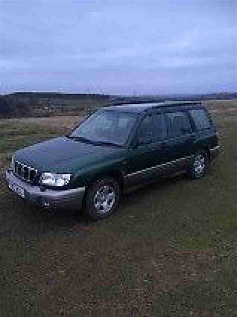 2002 green subaru forester subaru 2002 forester all weather green grey car for sale
