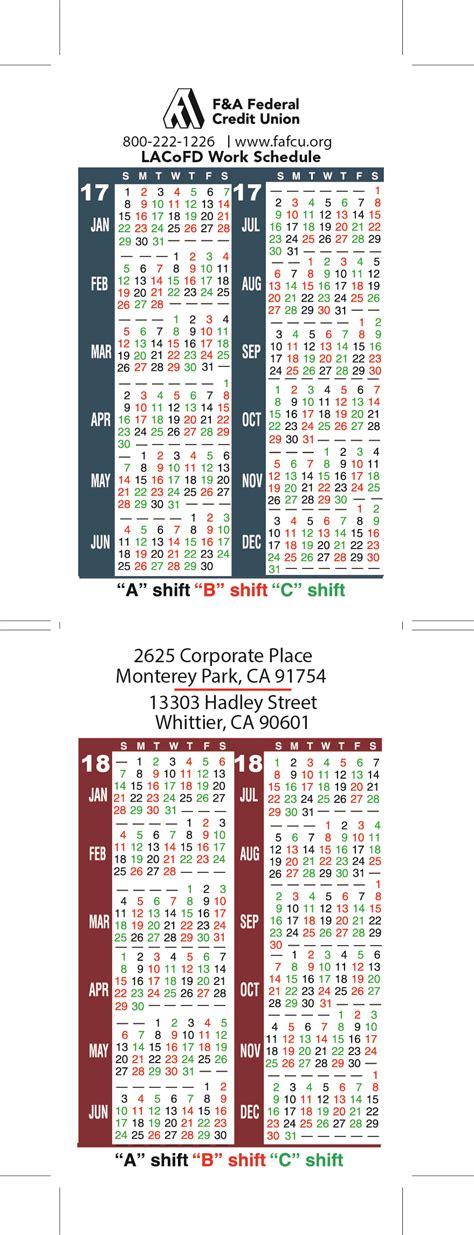 Shift Schedule Calendar Shift Calendar