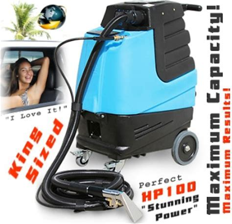 SHOP: AUTO DETAIL EXTRACTORS and Upholstery Machines