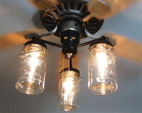 ceiling fan with mason jar lights 25 great ideas about fan lights on pinterest bedroom