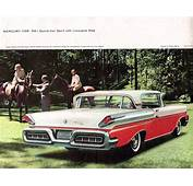 1958 Mercury Prestige Brochure  Automobile