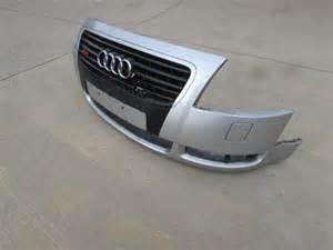 audi tt mk1 8n front bumper cover w grille silver