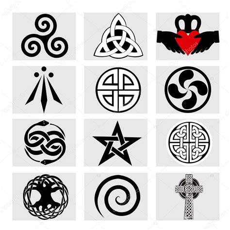 imagenes simbolos celtas significado doce s 237 mbolos celtas vector de stock 169 hxam92 125355646