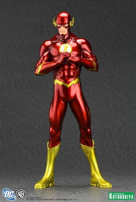 Flash New 52 welovetoys news kotobukiya reveals images of the new 52 the flash artfx statue