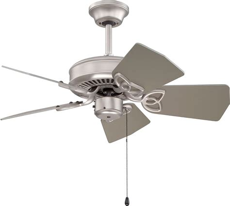 Craftmade K10149 Piccolo Brushed Satin Nickel Indoor 30 Ceiling Fans