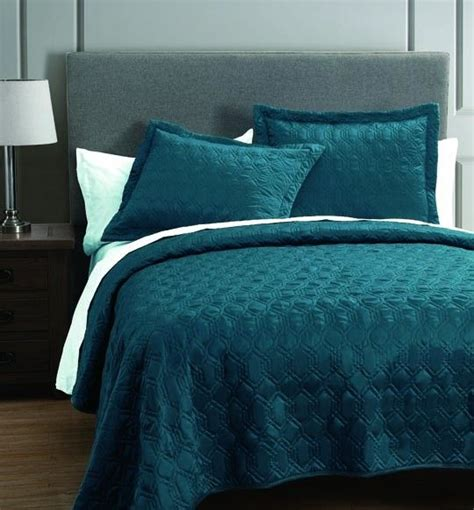 Rogen Teal 3 Piece Coverlet Set 140 00 Now 45 At Anna S