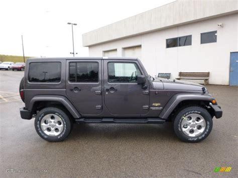 2014 Jeep Colors 2014 Granite Metallic Jeep Wrangler Unlimited 4x4