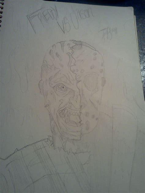 sketchbook vs sketchpad freddy vs jason sketch by jakester2008 on deviantart