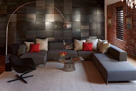 Living Room With L Shaped Sofa Contemporary Living Room With L Shaped Sofa Furniture Decoist
