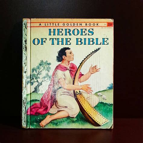 heroes storybook bible books heroes of the bible a golden book 1955